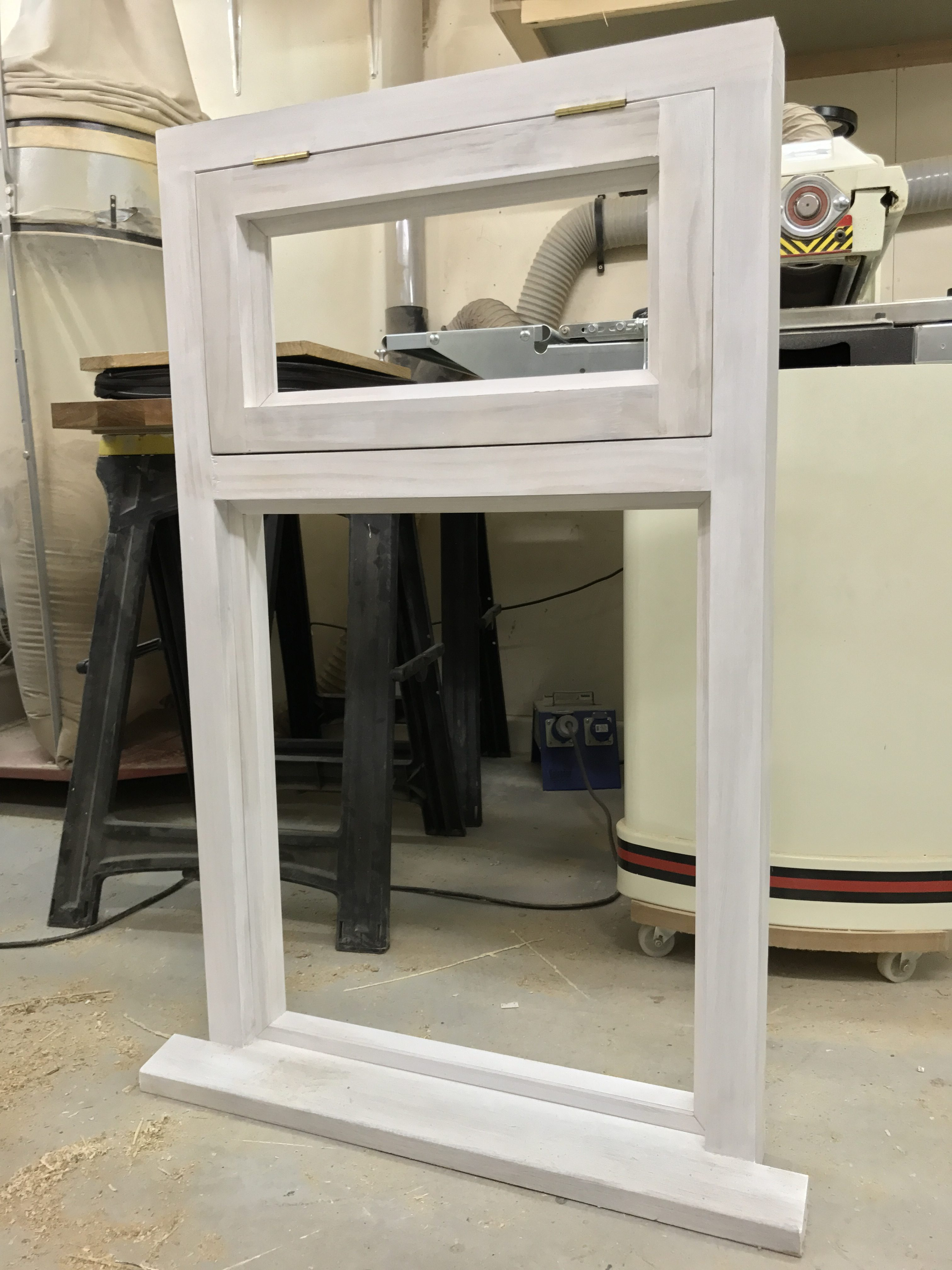 Primed window ready to fit