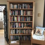 Adjustable shelf bookcase
