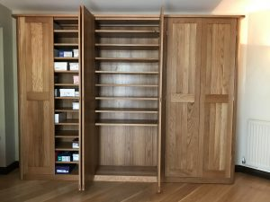 Large storage unit for shoes