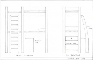 Bunk Bed design