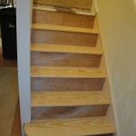 Completed stair case repair