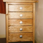 Finger joint drawers